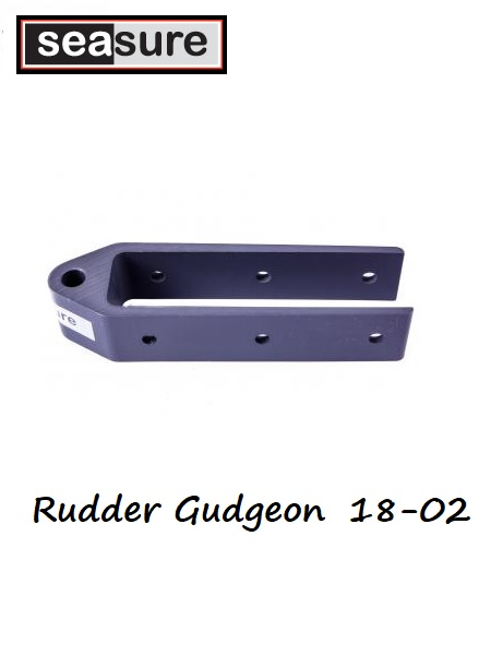 Rudder gudgeon 25mm 18.02
